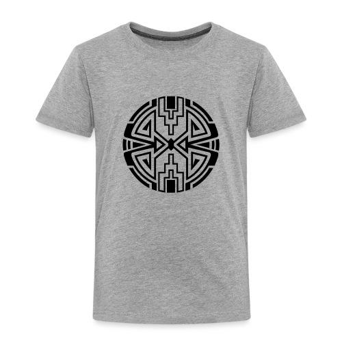 Indianer Kreis Symbol Pfeil Diamant Konzentration - Kinder Premium T-Shirt