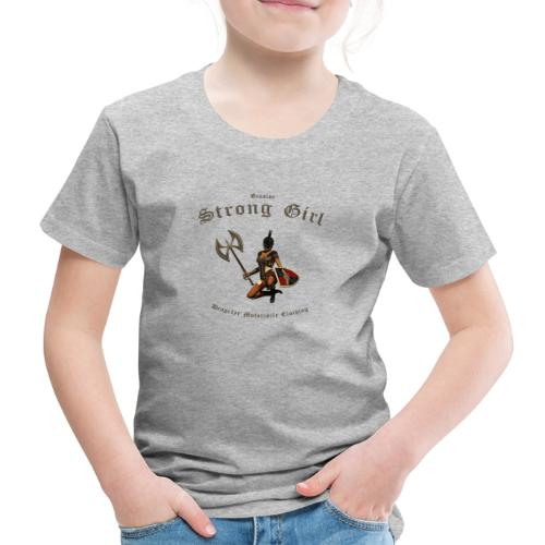 Strong Girl | Dragefyr - Kinder Premium T-Shirt