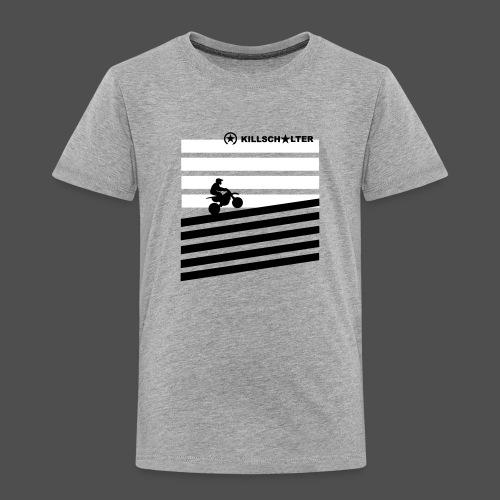 DIRT BIKE RIDER 0DR01 - Kinder Premium T-Shirt