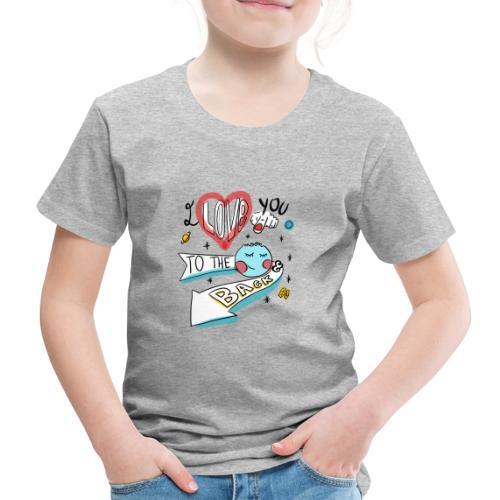 I love you to the moon 2 - T-shirt Premium Enfant