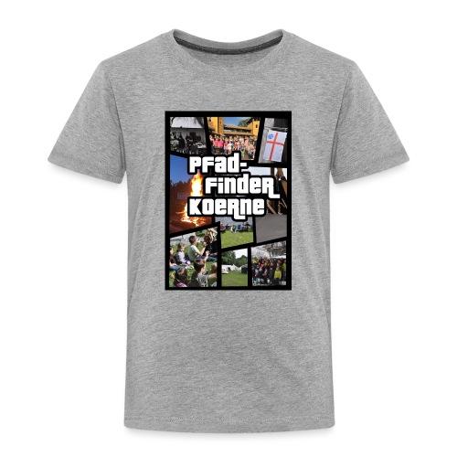 Zelten statt zocken - Kinder Premium T-Shirt