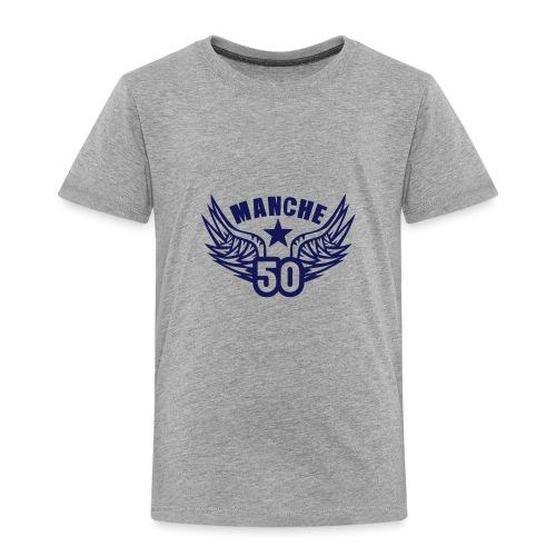 50 manche departement aile normandie - T-shirt Premium Enfant