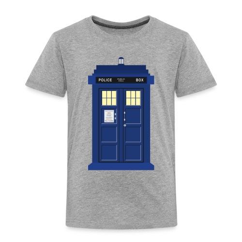 Tardis print Doctor Who - Kids' Premium T-Shirt