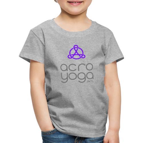 AcroYoga International Logo - Kids' Premium T-Shirt