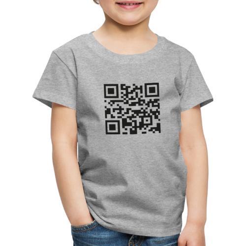 ADcase QR-Code - Kinder Premium T-Shirt