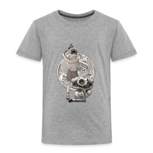 Hard Mechanic Pin-up - T-shirt Premium Enfant