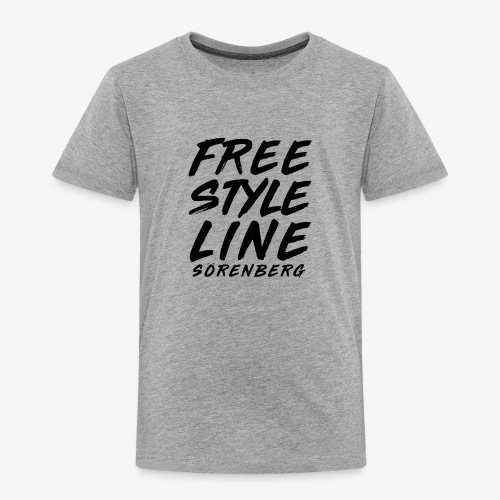 FS-Line brush black - Kinder Premium T-Shirt