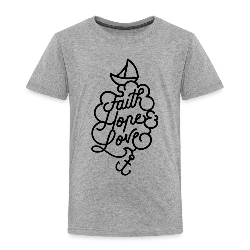 logo schiff - Kinder Premium T-Shirt