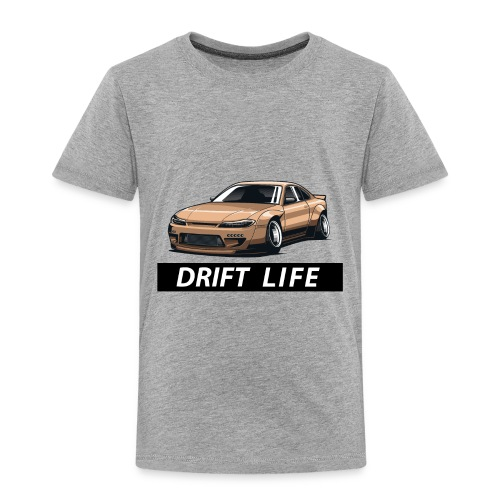 Vida Drift Tuneo Derrape Silvia s14 drift jdm - Camiseta premium niño