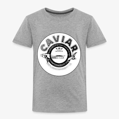 Caviar Black / White - Kids' Premium T-Shirt