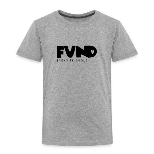 FUND Friskole - Børne premium T-shirt