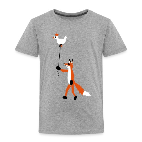 Fuchs und Henne - Kinder Premium T-Shirt