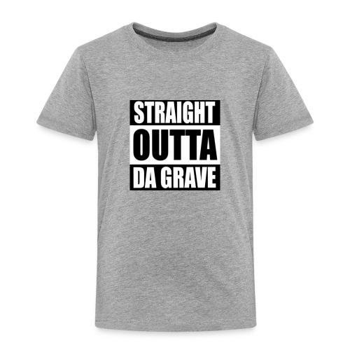 STRAIGHT OUTTA DA GRAVE - Kids' Premium T-Shirt