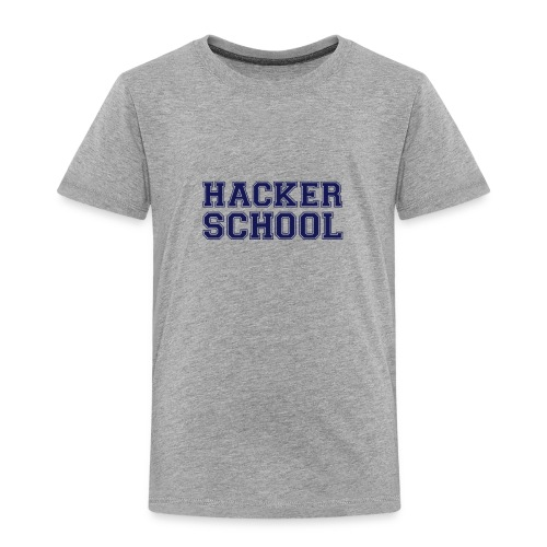 Hacker School ohne Pixel - Kinder Premium T-Shirt
