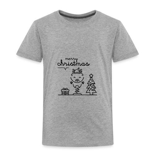 Noël reindeer 2 - T-shirt Premium Enfant