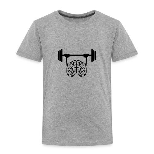 cerveau cervelle barre musculation - T-shirt Premium Enfant