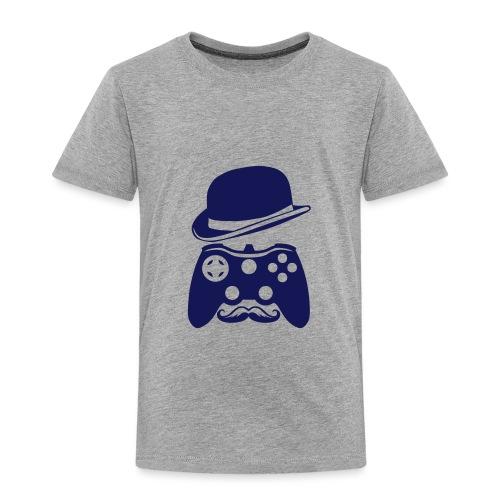 manette chapeau melon moustache personna - T-shirt Premium Enfant