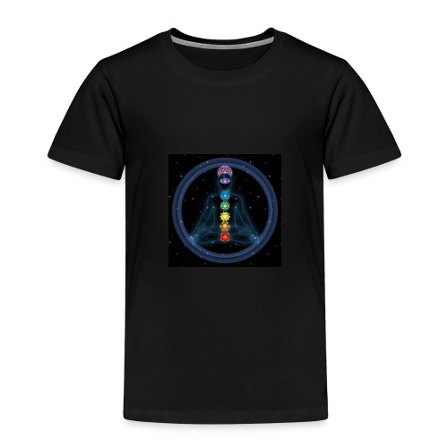 OmChakraInspirationMeditation - Kinder Premium T-Shirt