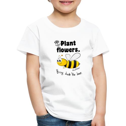 Bees8-2 Bringt die Bienen zurück! | Bookrebels - Kids' Premium T-Shirt
