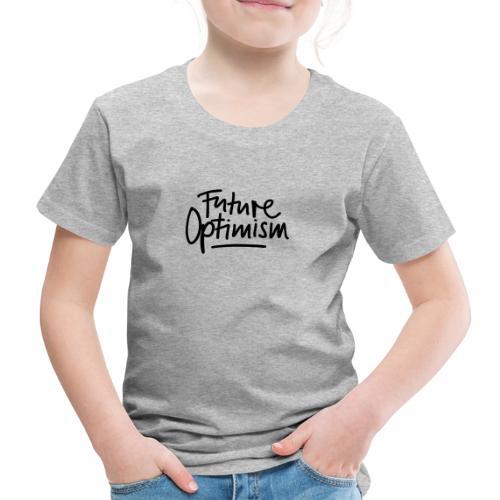 Future Optimism Black - Kinder Premium T-Shirt