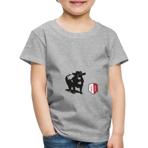 Vache - Cow - Kinder Premium T-Shirt