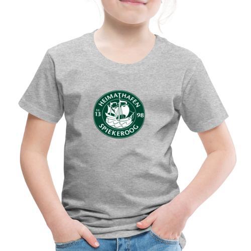 Heimathafen Logo Grün - Kinder Premium T-Shirt