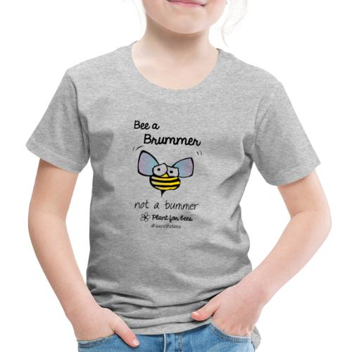 Bees6-2 Save the bees - Kids' Premium T-Shirt