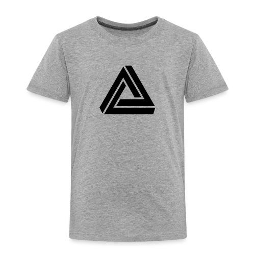 Tribar Dreieck, Unmögliche Figur Optische Illusion - Kinder Premium T-Shirt