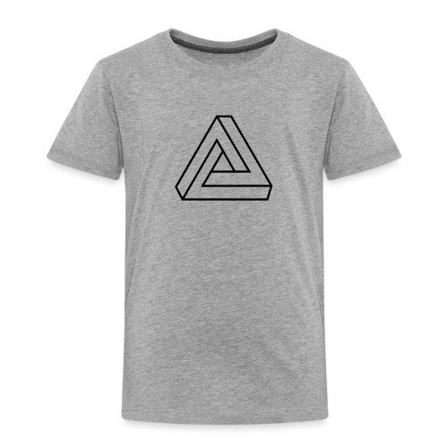 Penrose Dreieck Unmögliche Figur, Illusion, Escher - Kinder Premium T-Shirt