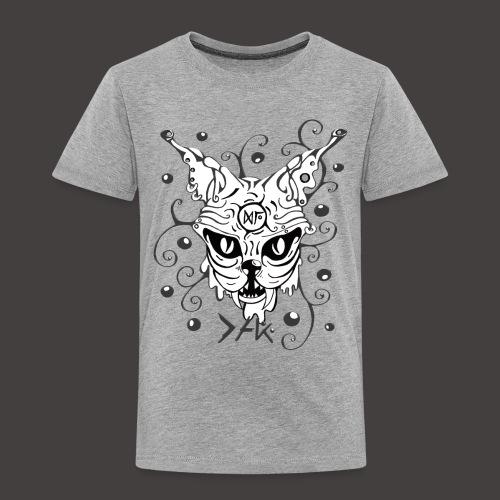 THE CAT fond noir - T-shirt Premium Enfant