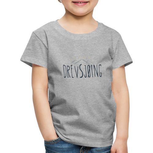 Drevsjøing - Premium T-skjorte for barn
