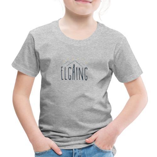 elgåing - Premium T-skjorte for barn