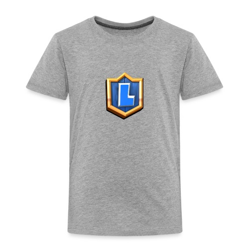 LuFresh Logo Blau - Kinder Premium T-Shirt