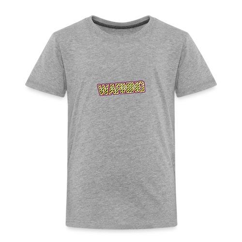 warning - Kids' Premium T-Shirt