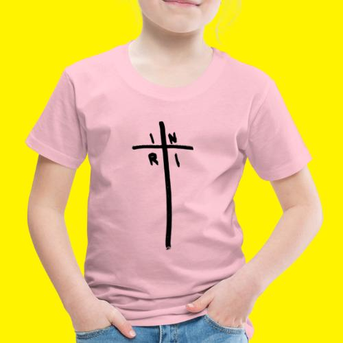 Cross - INRI (Jesus of Nazareth King of Jews) - Kids' Premium T-Shirt
