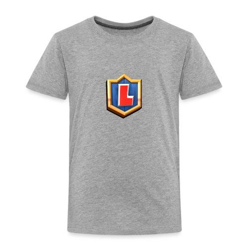 LuFresh Logo Rot - Kinder Premium T-Shirt