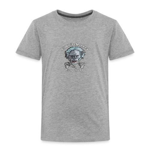 ElWhiteMonkey Logo - Kids' Premium T-Shirt