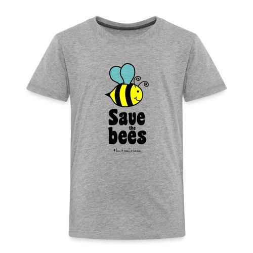 Bees9-1 save the bees   Bienen Blumen Schützen - Kinder Premium T-Shirt