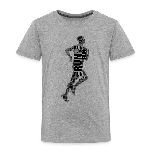 runner running - Kids' Premium T-Shirt