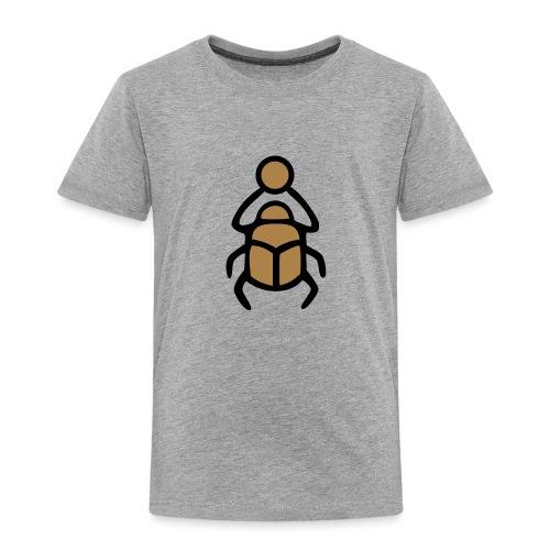 Skarabäus Ägyptisches Schutz Symbol Amulett - Kinder Premium T-Shirt