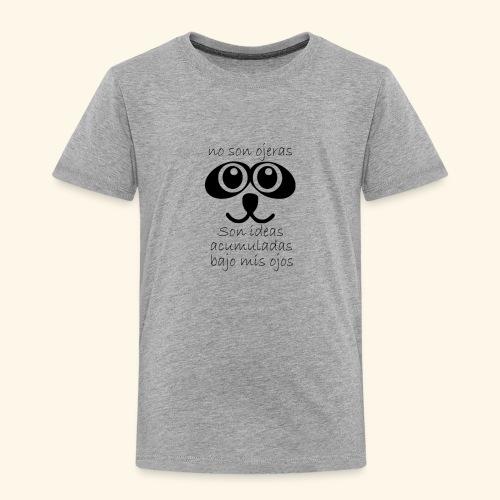 Ojeras - Camiseta premium niño
