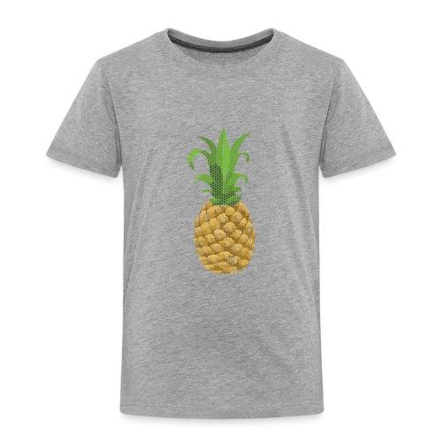 Dots Ananas - Kinder Premium T-Shirt