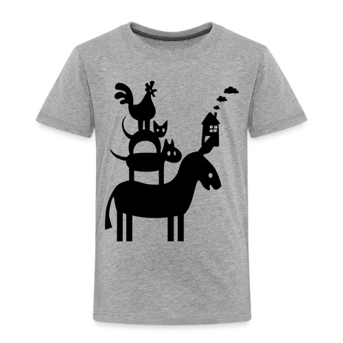 bremer stadtmusikanten ha - Kinder Premium T-Shirt