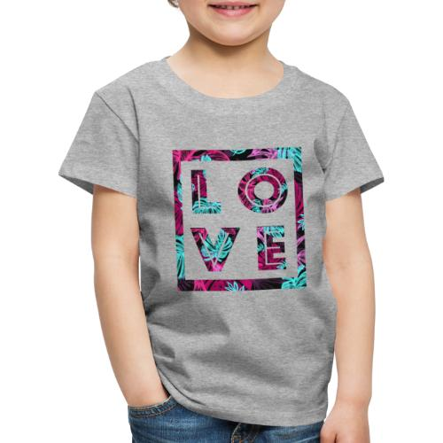 LOVE - Premium-T-shirt barn