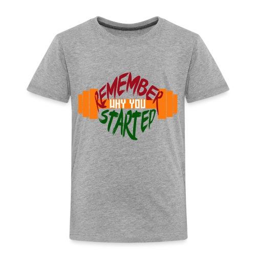 fitness draw - T-shirt Premium Enfant