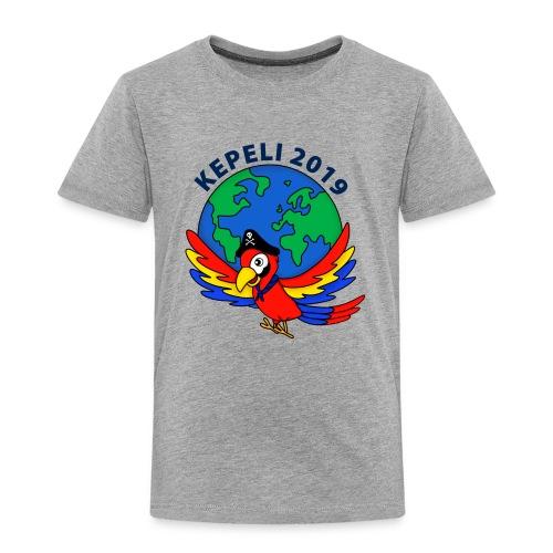 kepeli2019 logo - Lasten premium t-paita