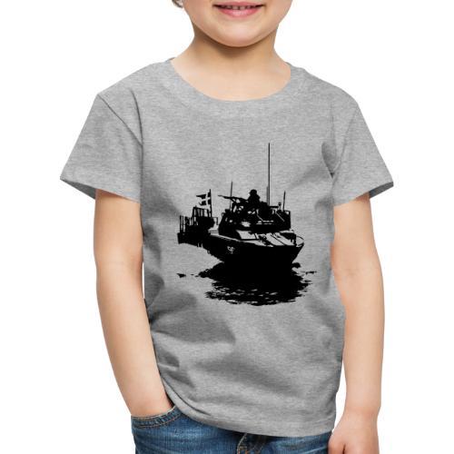 Combat Boat 90 - Stridsbåt 90 - Premium-T-shirt barn