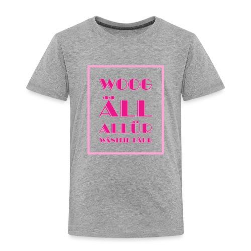 Shirt für Fashionistas mit Rechtschreibschwäche - Kinder Premium T-Shirt