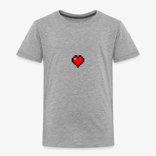 Coeur cubique - T-shirt Premium Enfant