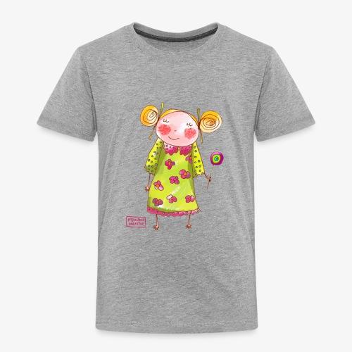 fille happy - T-shirt Premium Enfant